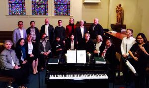 Music Ministry group picture