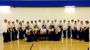 Glory and praise choir group photo